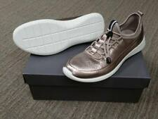 NIB Ecco Women's Soft 5 Metallic Athleisure Lightweight Fashion Sneaker Size 40