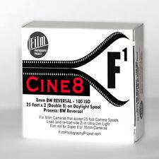 Regular 8mm / Double 8 Movie Film - Fpp Cine8 Bw Reversal 100 Iso (25 Ft)
