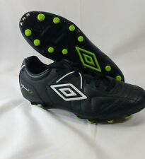 Umbro Seciali R Cup Jr Youth Black White Size 4.5 Soccer Cleats Shoes