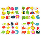 48X Colorful Wooden Carton Animal Sunflower etc Fridge Magnet Kid Education Toy