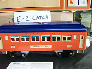 SCARCE The Lionel Lines MTH Built # 309 Tinplate Passenger Coach Car Irvington