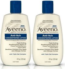 2 Pack Aveeno Anti-Itch Concentrated Lotion - 4 oz Each