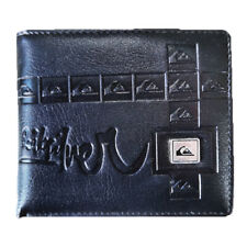 NEW IN BOX Quiksilver Men's Surf Synthetic Leather Wallet Christmas Gift Black