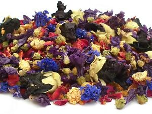 Wedding Confetti Petal Natural Biodegradable Confetti Dried Flowers, Twilight 1L