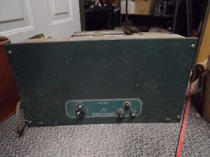 Vintage Altec 1590C Amplifier