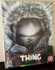 THE THING Blu-Ray John Carpenter Arrow UK Exclusive Deluxe Limited Edition
