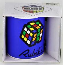 Rubiks Cube Game Blue Classic Ceramic Coffee Tea Mug 12 oz NEW NIB