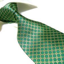 Extra Long 100% Polyester Mircofibre Tie PL303,Green Men's Necktie 63 inch