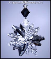 m/w Swarovski Silver Night + Clear Lily Octagons Sun Catcher Lilli Heart Designs