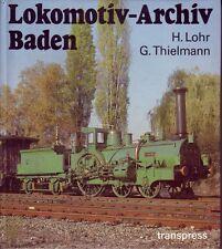 Lokomotiv-Archiv Baden  ==Reich bebildert=transpress==1. Auflage