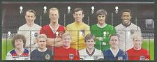 GREAT BRITAIN 2013 FOOTBALL LEGENDS  SHEET OF ELEVEN  MINT NH