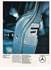 PUBLICITE ADVERTISING  1964   MERCEDES-BENZ