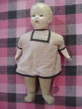 Antique~ Vintage ~ Composition & Clothe EFFANBEE Doll with Cryer Box   17""