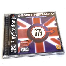 Grand Theft Auto Gta Mission Pack #1: London 1969 (Ps1, 1999) Black Label Clean