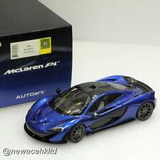 McLaren P1 (AZURE BLUE) AUTOART MODEL 1/18 #76061