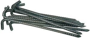 Galvanised Heavy Duty Steel Ground Stakes Marquee Tent Pegs Anchor Stakes