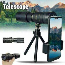 4K 10-300X40mm Super Telephoto Zoom Monocular Telescope /Tripod & Clip Set 2020