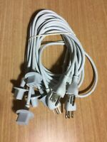 """Lot of 5 OEM Apple 622-0390 iMac Power Cord Cable 2012-2017 6' for 21""""&27"""" iMac"""