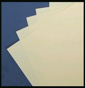 10x A4 CERTIFICATE CERTIFICATES PAPER WATERMARK 100GSM CREAM SMOOTH FINISH