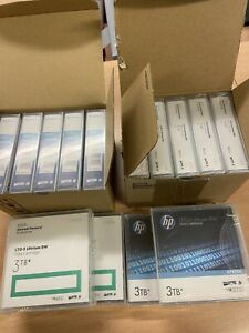 14 x HP LTO-5 Ultrium RW 3TB Data Cartridges. Brand New Sealed In Box