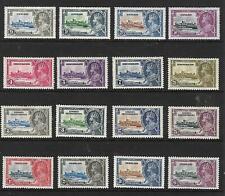 British Commonwealth- 1935 Silver Jubilee  4 x  Sets LMM