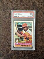 1976 Topps Baseball Cesar Cedeno #460 - PSA 9 - Houston Astros