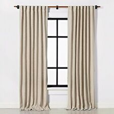 """Curtain Panel Solid Fresno Pebble 95"""" - Hearth & Hand with Magnolia"""