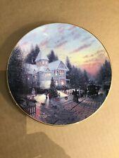 The Magic Of Christmas Thomas Kinkade's Yuletide Memories Collector Plate