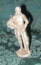 Gallo Pewter Bob Maurus 86' - White Knight Pewter Figure Rare Must See