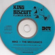 MIKE + THE MECHANICS: KING BISCUIT-COMPLETE RADIO BROADCAST [5/89] + LOG & ADS
