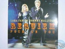 LARA FABIAN REQUIEM POUR UN FOU CD 2T JOHNNY HALLYDAY