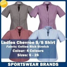Collared Stretch Tops & Blouses for Women
