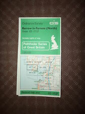"Ordnance Survey Map 2.5"" map SD17/27 Barrow in Furness N 1977 Dalton, Ulverston."