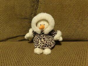 "VHTF 11"" Ganz Heritage 2001 Plush CHILLI Snowman w/ Parka Coat Jacket (*1b)"