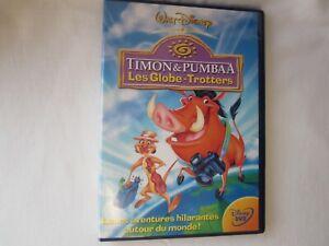 DVD DISNEY : TIMON & PUMBAA - LES GLOBE-TROTTERS / COMME NEUF