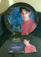 More details for buffy the vampire slayer series 1 xander  8 inch collectors plate boxed