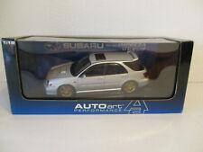 ( GOKR ) 1:18 AUTOart Subaru New AGE Impreza WRX Wagon STI 2001  NEU OVP