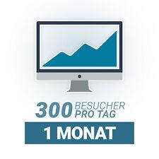 🚀 Täglich 🚀 300 Deutsche Webseiten Besucher für 1 Monat I Echte Besucher SEO