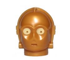 Star Wars C-3PO protocol Pearl Gold x1-75244 75059 NEW LEGO Head Modified