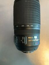 Nikon AF-S Nikkor 70-300mm f/4.5 - 5.6G SWM VR ED IF Zoom Lens - Great!