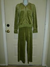 NWT NEW BCBG MAXAZRIA HOODIE PANTS PETITE XL JACKET PET MED PANTS VELVET $130 SW