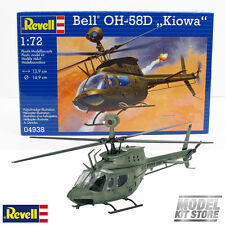 Bell OH-58D Kiowa - 1/72 Revell Military Helicopter Model Kit #4938 NEW