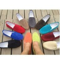 Mens 11 Colors Canvas Casual Flats Moccasin Slip On Driving Boat Shoes Loafers