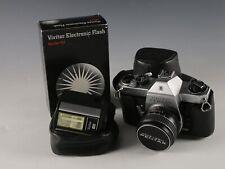 Honeywell Pentax Spotmatic F Camera Vivitar Flash
