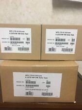 NEW- HP LTO 6 (10 PACK) C7976A ULTRIUM BACKUP TAPE -HPE STORAGE DRIVE Cartridge