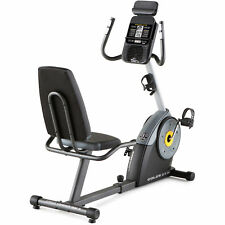 Recumbent Exercise Bike Fitness Stationary Bicycle Cardio Workout Tablet Holder