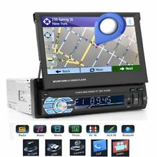 "7"" HD Head Unit in-Car Stereo Radio GPS Navi MP3 MP5 Bluetooth Navigation Player"