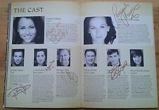 Emma Hatton, Savannah Stevenson + 4 signed Wicked the Musical programme 2015