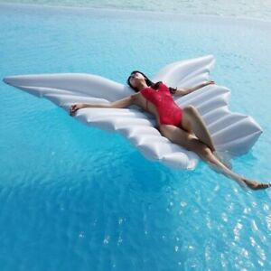 Floating Pool Summer Giant Angel Wings Inflatable Pool Floating Air Mattress