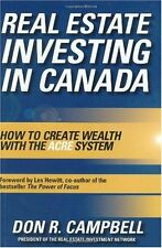 Real Estate Investing in Canada: Creating Wealth w